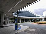 Bus stop at Canberra Airport July 2017.jpg
