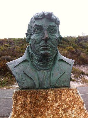 Nicolas Baudin - Bust of Baudin in Albany, Western Australia