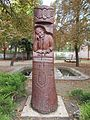 Bust of Ferenc Lanyi (2002) in MAV Park, 2016 Dunakeszi.jpg