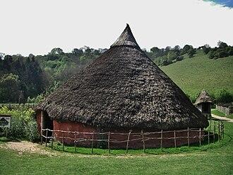 Butser Ancient Farm - Image: Butser Farm Moel y Gerddi