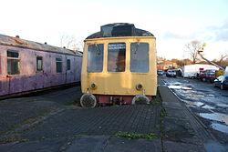 Butterley railway station, Derbyshire, England -train-19Jan2014 (7).jpg