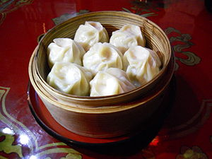 Mongolian cuisine - Buuz