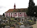 Byšice, kostel a hřbitov.JPG