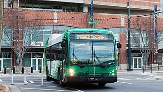Charlotte Area Transit System - Image: CATS2903Airport