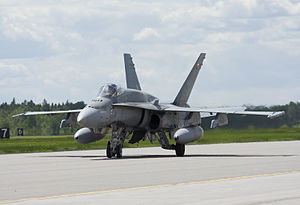 CFB Bagotville -  425 Squadron CF-18A Hornet currently based at Bagotville