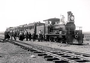 Cape Government Railways 3rd Class locomotives - CGR 3rd Class 4-4-0 of 1883