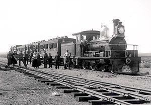 CGR 3rd Class 4-4-0 1883 - CGR 3rd Class no. 83 Sir Hercules