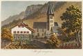 CH-NB - Meiringen, Pfarrhaus und Kirche - Collection Gugelmann - GS-GUGE-WEIBEL-D-87.tif