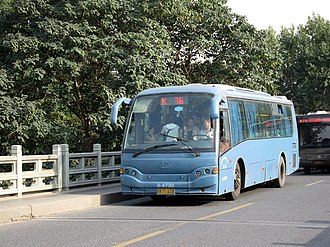 Changzhou Changjiang Bus - Image: CJ6101G2C11HK