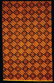 Batik type of Indonesian cloth
