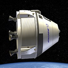 Rendering of the CST-100