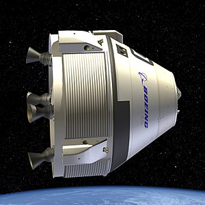 CST-100 Starliner - Rendering of the CST-100 Starliner