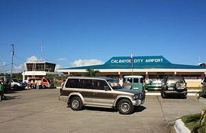 Calbayog Airport - Image: CYP outside