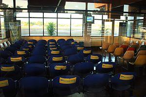 Calbayog Airport - Image: CYP Inside