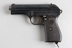 ČZ vz. 27 - vz. 27 pistol, made during German occupation