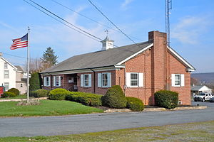 Caernarvon Township, Berks County, Pennsylvania - Municipal offices and police department in Morgantown