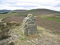 Cairn at Linglie Hill - geograph.org.uk - 214922.jpg
