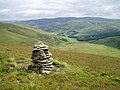 Cairn on Grey Weather Law - geograph.org.uk - 199203.jpg