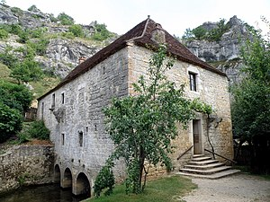 Calès, Lot - Cougnaguet Mill, in Calès