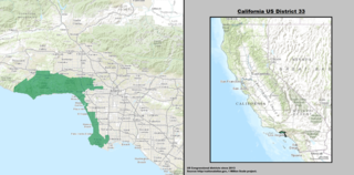 U.S. House district in western suburbs of Los Angeles, CA