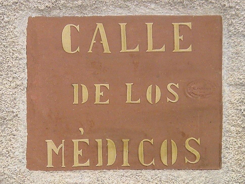 Calle de los Médicos (RPS 23-03-2008) Chinchilla, Albacete