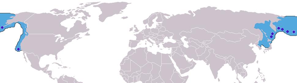 Callorhinus ursinus distribution