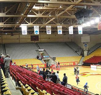 Cameron Hall (arena) - Image: Cameron Hall VMI