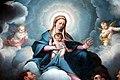 Camillo Procaccini, Madonna in gloria con i santi Tommaso, Carlo e Francesco 06.jpg