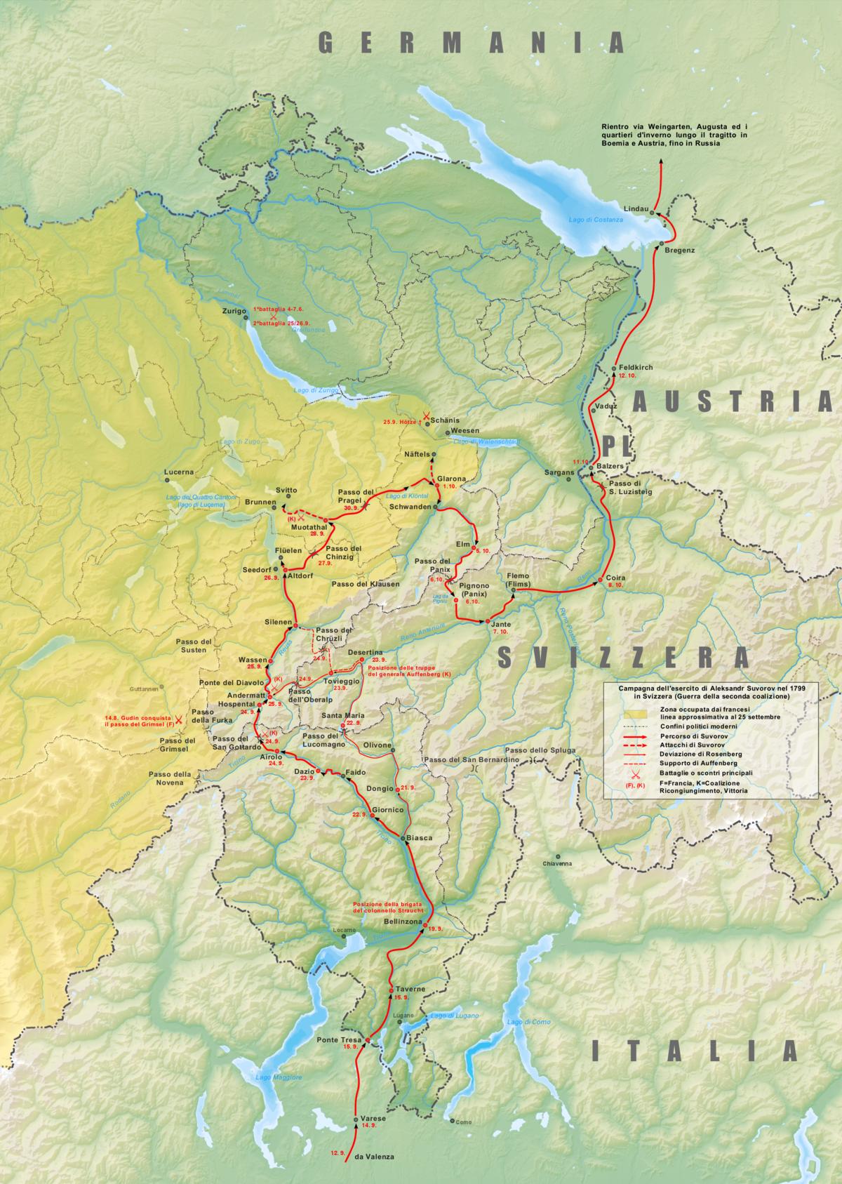 campagna svizzera di suvorov wikipedia