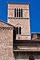 Campanile della chiesa di San Francesco (Terni, XIII secolo).jpg