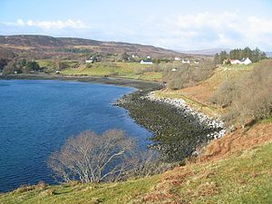 Camastianavaig - Image: Camustianavaig shoreline