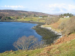 Camastianavaig Human settlement in Scotland