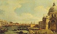 Canaletto (1697-1768) (after) - Venice, the Grand Canal with Santa Maria della Salute towards the Riva degli Schiavoni - P495 - The Wallace Collection.jpg