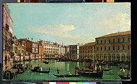Canaletto (Giovanni Antonio Canal) - The Grand Canal, Venice, Looking South toward the Rialto Bridge - 2019.141.2 - Metropolitan Museum of Art.jpg