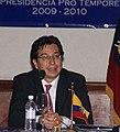 Canciller Falconi inaugura reunión del Consejo Suramericano de Desarrollo Social (4176250017).jpg