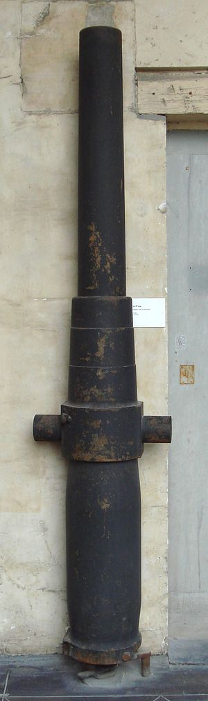 Lahitolle 95 mm cannon - Lahitolle 95 mm, production trial, steel, length 2.41 m.