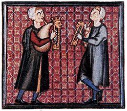 Dudások a Cantigas de Santa Maria kéziratból, 13. század