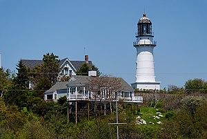 Cape Elizabeth Lights - Image: Cape elizabeth light