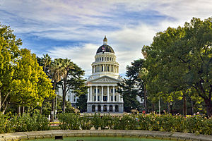1874 in architecture - California State Capitol, Sacramento