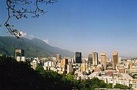 Vista de Caracas desde El Calvario