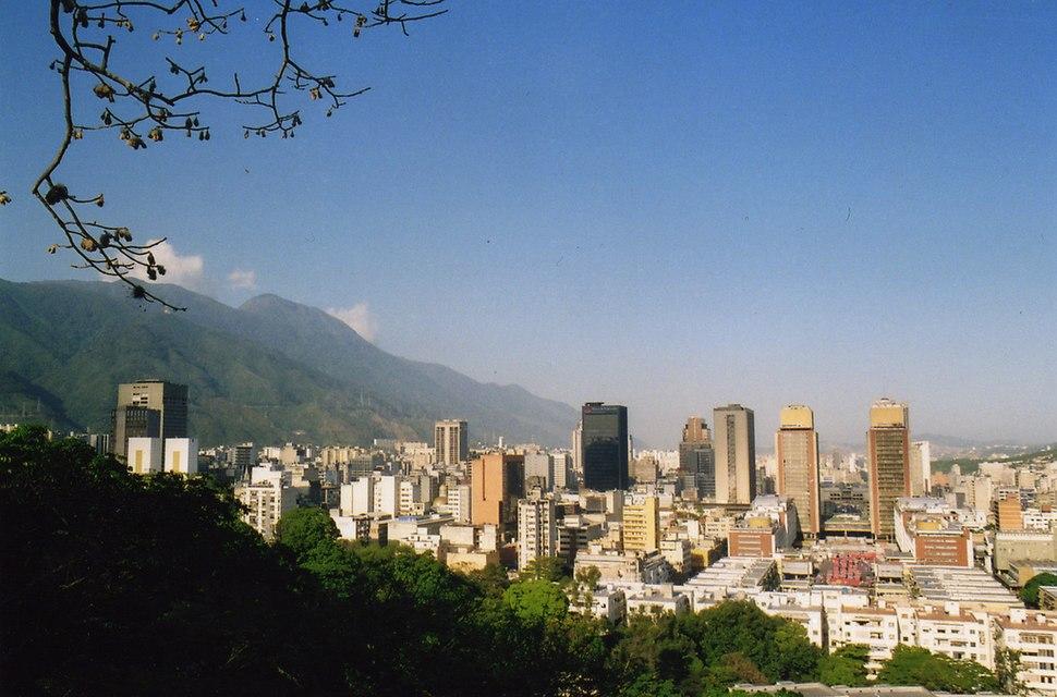 Caracas from El Calvario