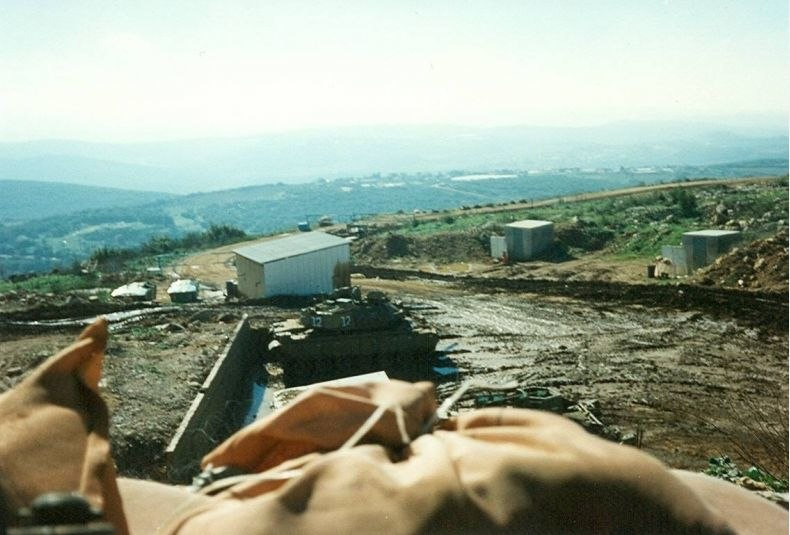 Carcom IDF military post in south Lebanon security belt 1998