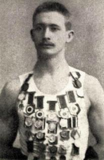 Carl Albert Andersen Gymnast and pole vaulter