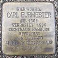 Carl Burmester - Wiesendamm 20 (Hamburg-Barmbek-Nord).Stolperstein.nnw.jpg
