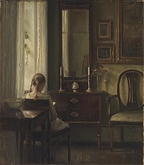 Interior with a Girl Reading