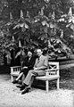 Carl Lutz svájci diplomata és felesége, 1943-ban. Fortepan 105743.jpg