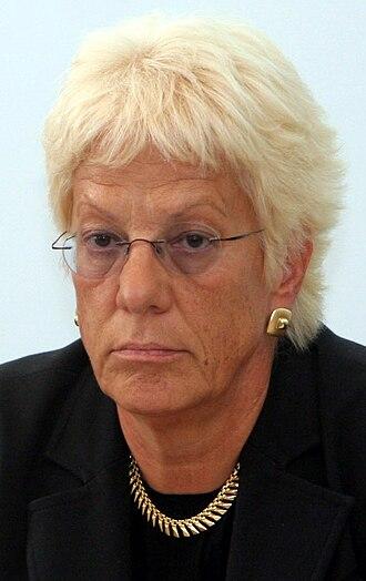 Examining magistrate - Carla Del Ponte