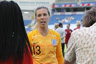 Carly Telford English association football player