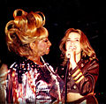 Carolina La O y Celia Cruz cantando en New York.jpg