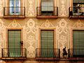 Carrer de Sant Pere Més Alt, 4, casa amb esgrafiats.jpg